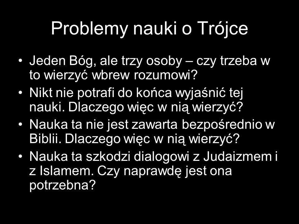 Problemy nauki o Trójce