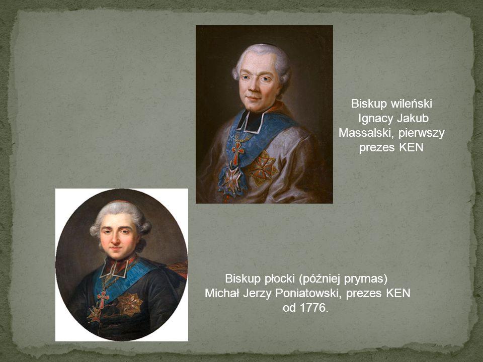 Ignacy Jakub Massalski, pierwszy prezes KEN