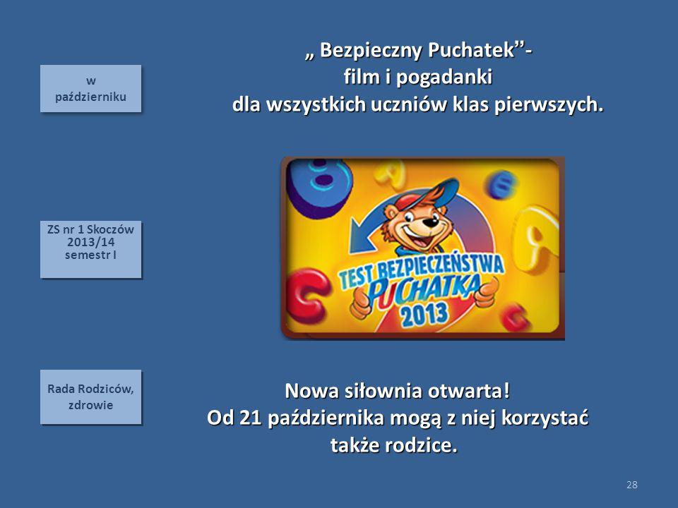 """"""" Bezpieczny Puchatek - film i pogadanki"""