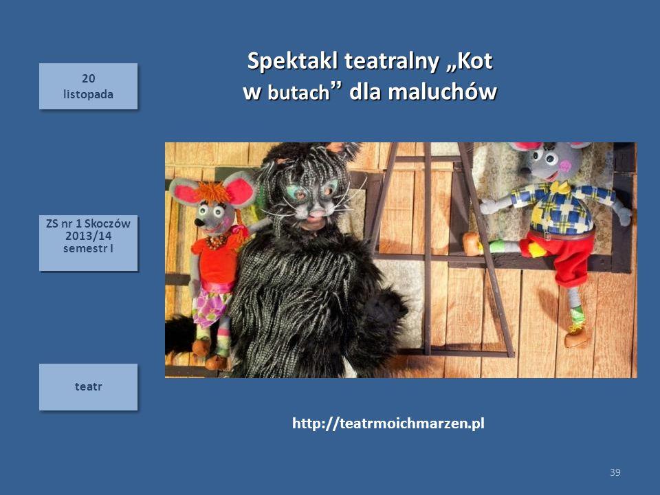 """Spektakl teatralny """"Kot"""