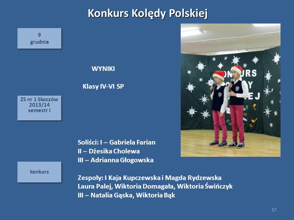 Konkurs Kolędy Polskiej
