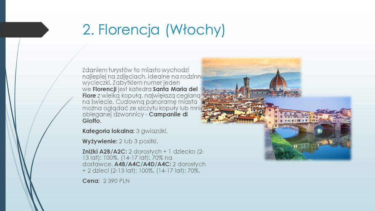2. Florencja (Włochy)