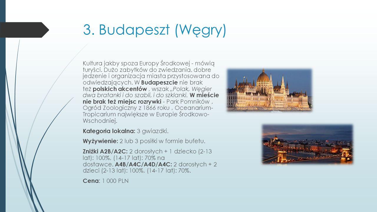 3. Budapeszt (Węgry)