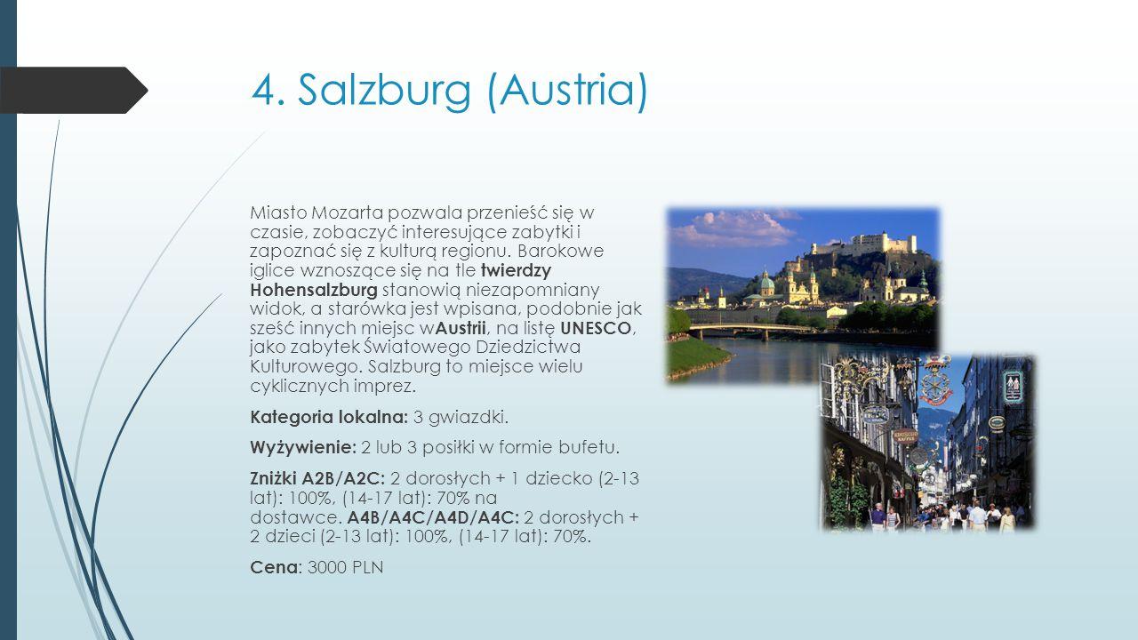 4. Salzburg (Austria)