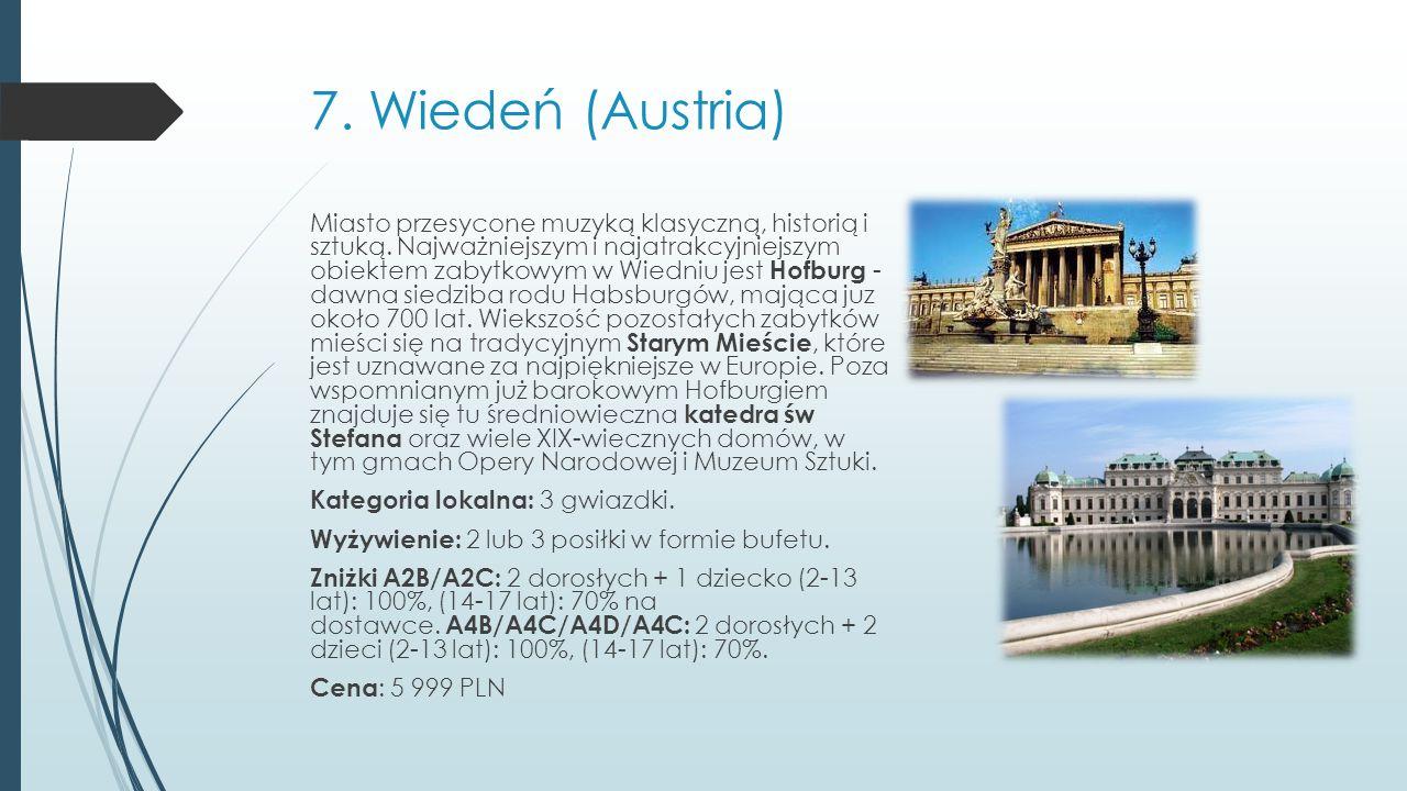 7. Wiedeń (Austria)