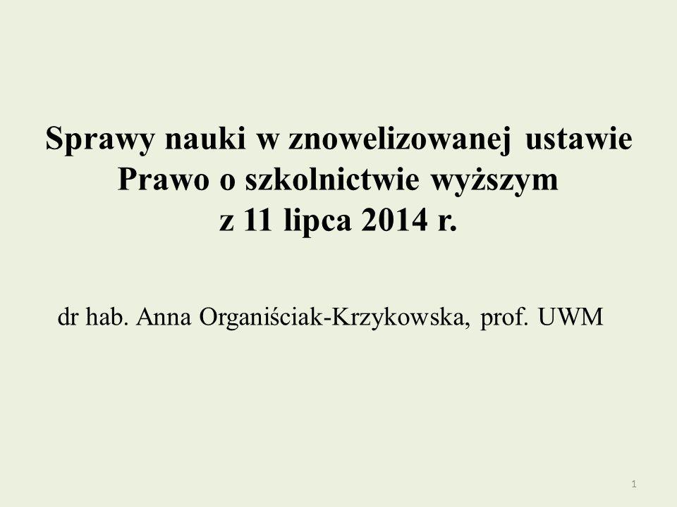 dr hab. Anna Organiściak-Krzykowska, prof. UWM