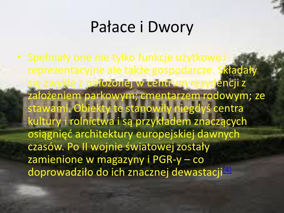 Pałace i Dwory