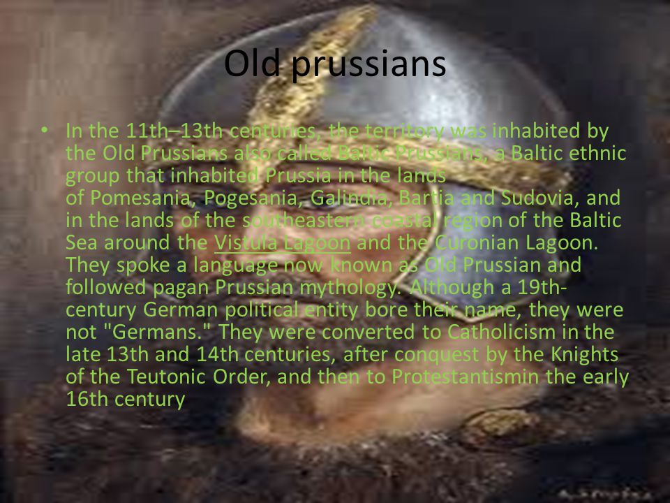 Old prussians