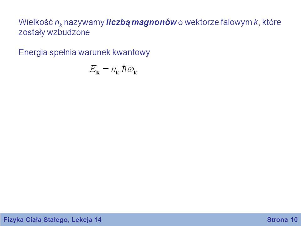 Fizyka Ciała Stałego, Lekcja 14 Strona 10