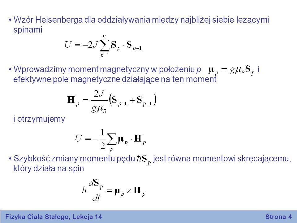 Fizyka Ciała Stałego, Lekcja 14 Strona 4