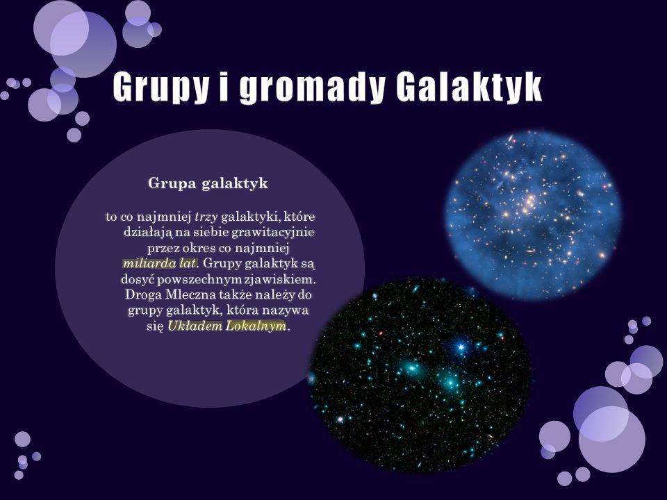 Grupy i gromady Galaktyk