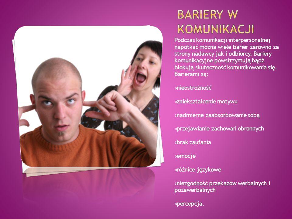 Bariery w komunikacji