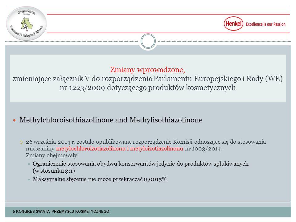 Methylchloroisothiazolinone and Methylisothiazolinone