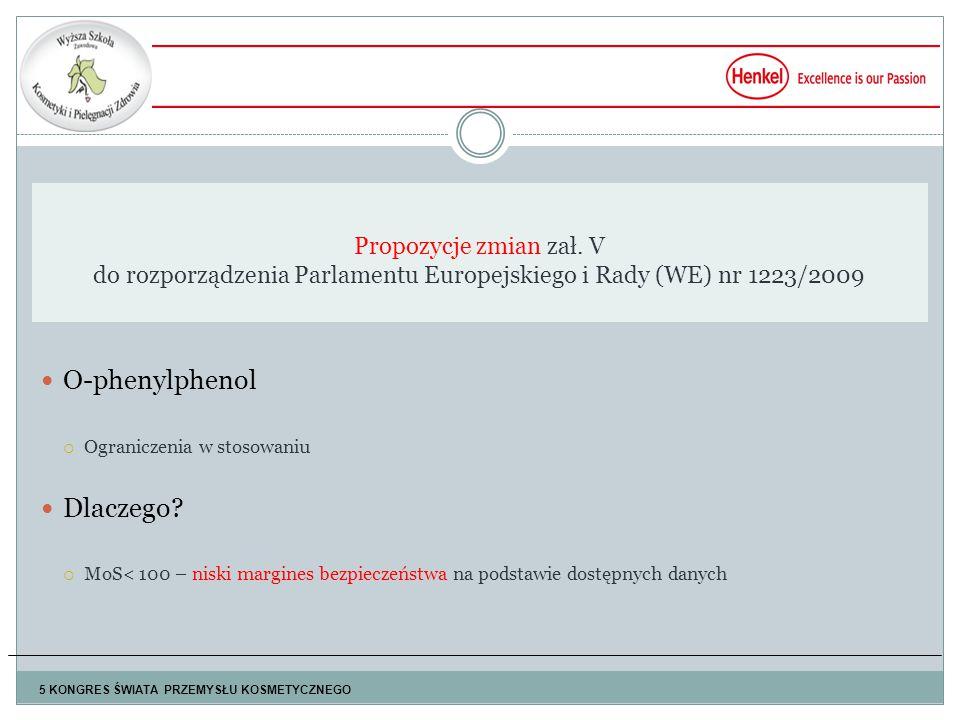 O-phenylphenol Dlaczego