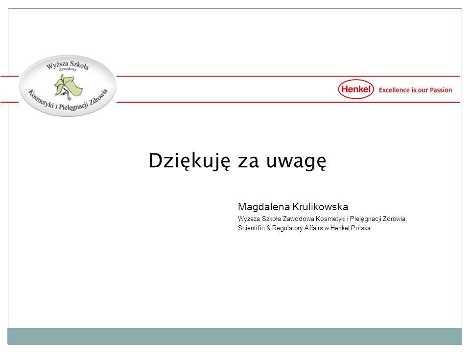 Dziękuję za uwagę Magdalena Krulikowska