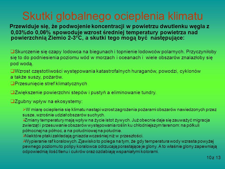 Skutki globalnego ocieplenia klimatu