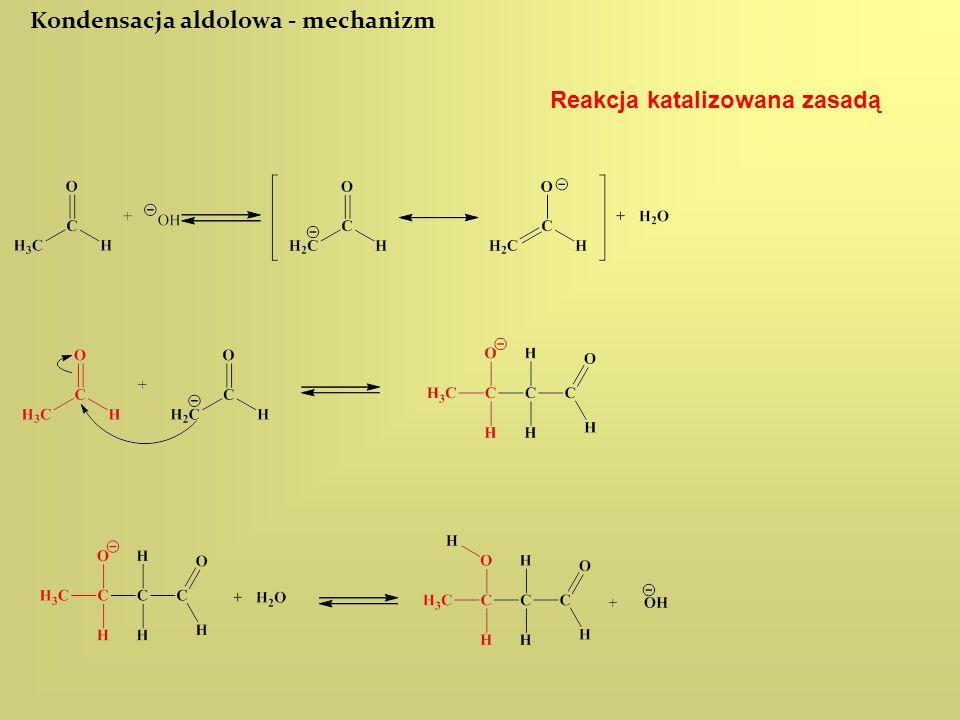 Kondensacja aldolowa - mechanizm