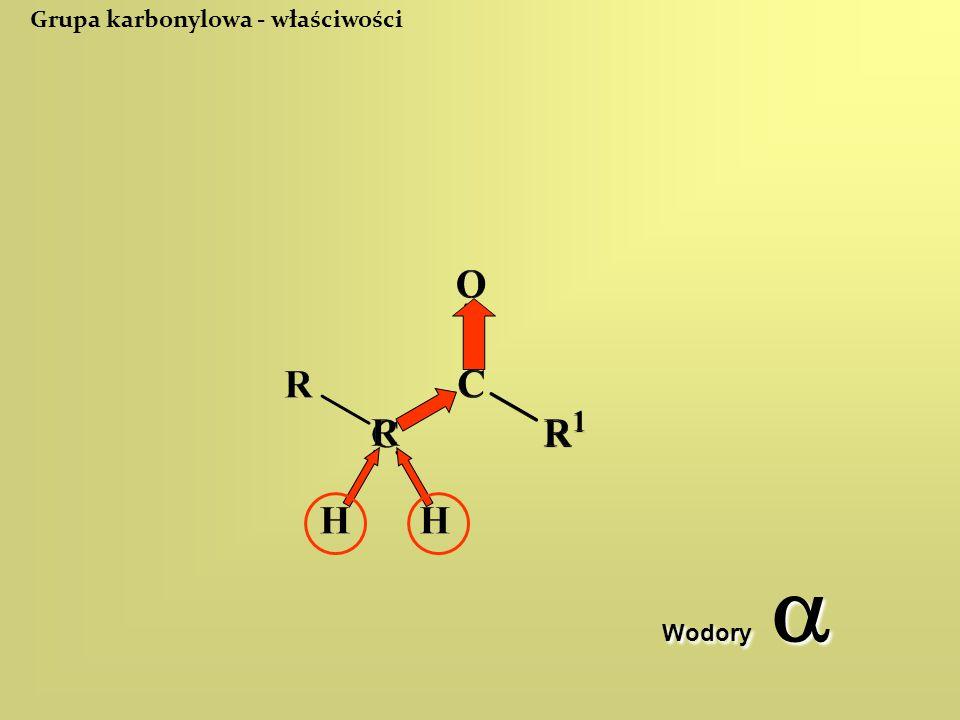 Grupa karbonylowa - właściwości