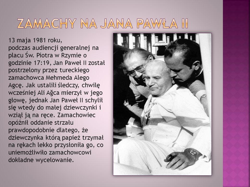 Zamachy na Jana pawła II