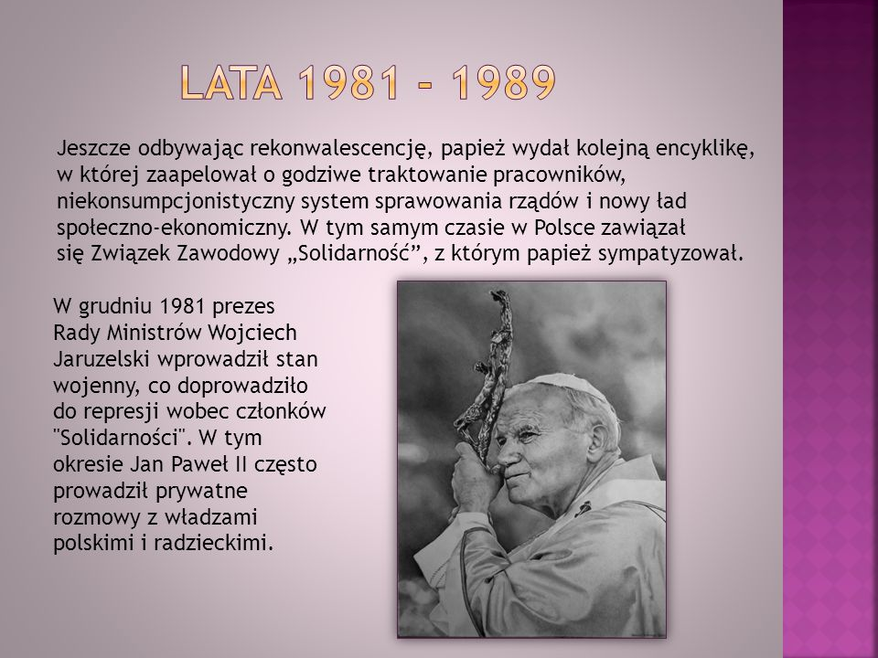 Lata 1981 - 1989