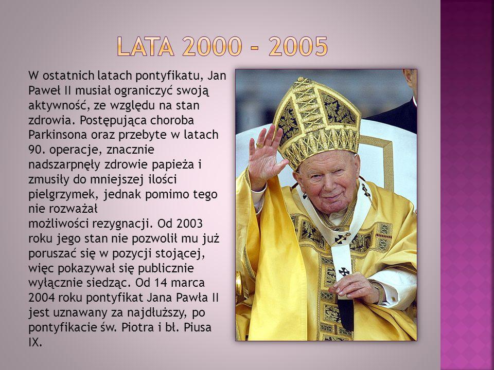 Lata 2000 - 2005
