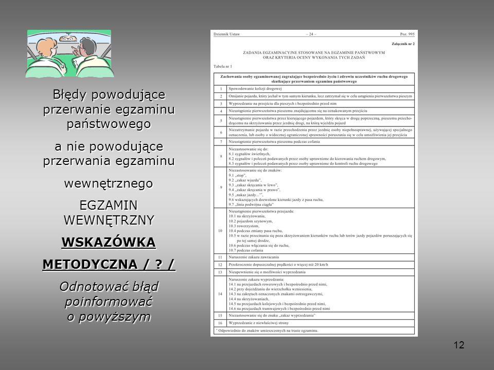 WSKAZÓWKA METODYCZNA / /