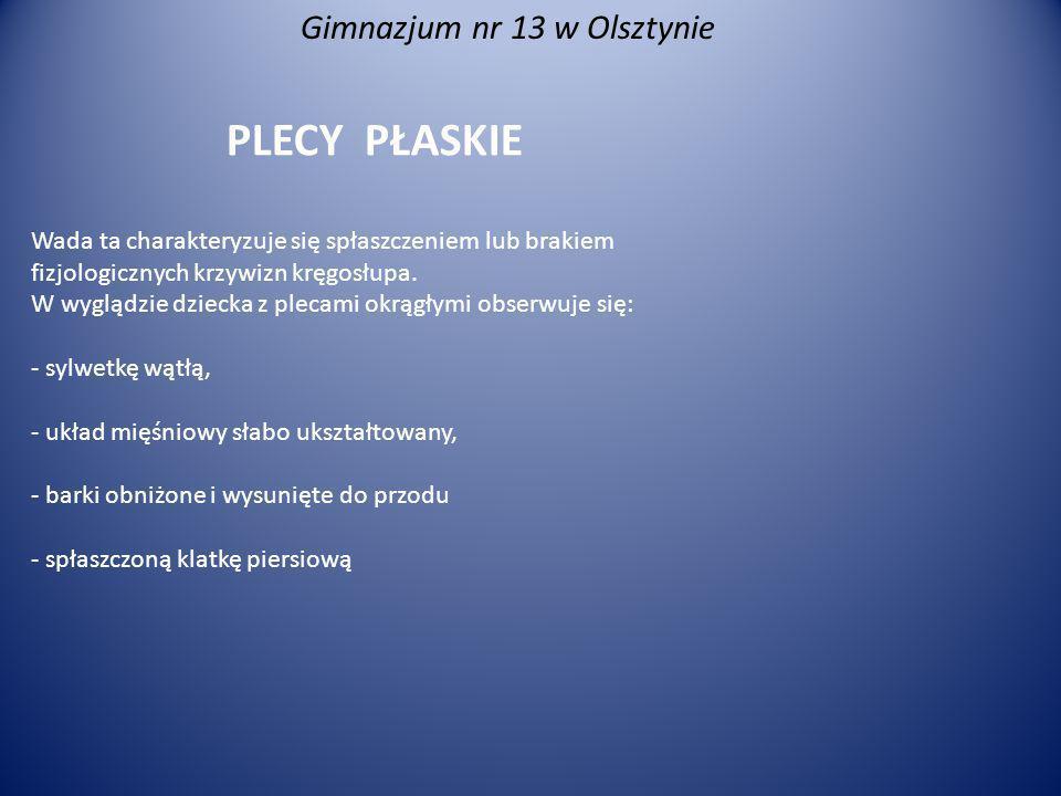 Gimnazjum nr 13 w Olsztynie