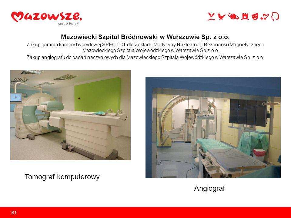 Mazowiecki Szpital Bródnowski w Warszawie Sp. z o.o.