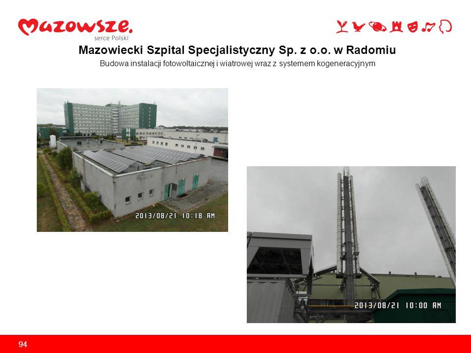 Mazowiecki Szpital Specjalistyczny Sp. z o.o. w Radomiu