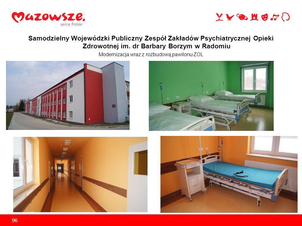 Modernizacja wraz z rozbudową pawilonu ZOL