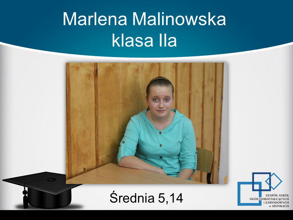Marlena Malinowska klasa IIa