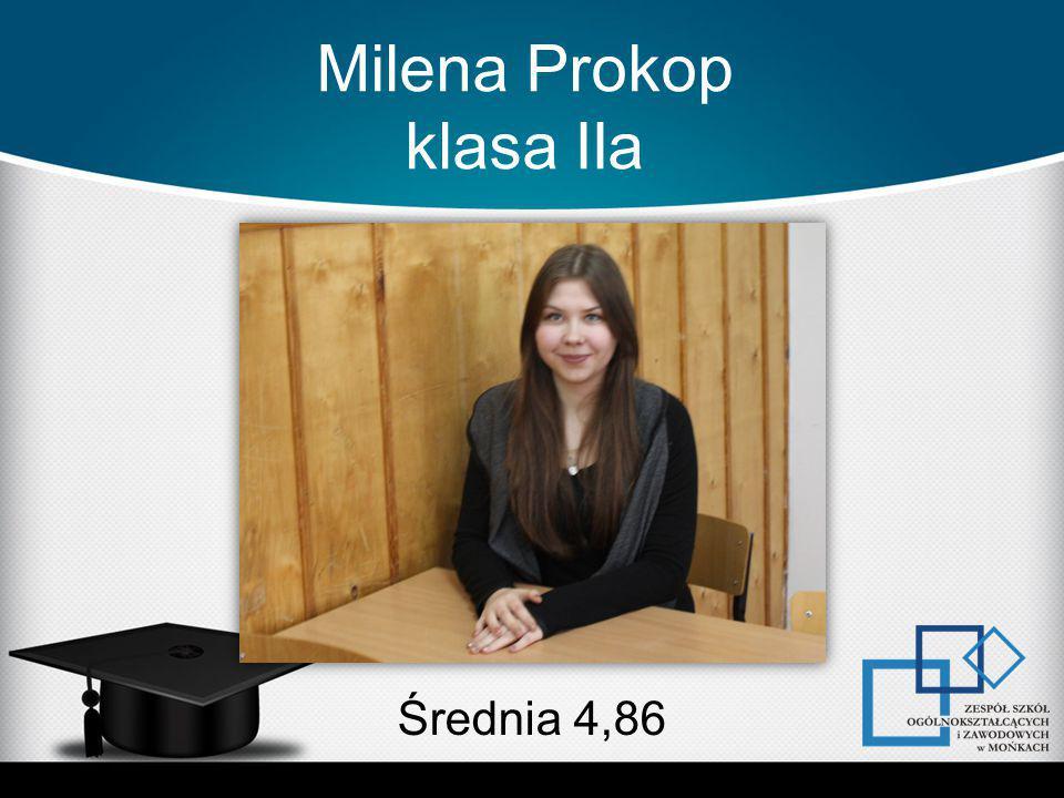 Milena Prokop klasa IIa