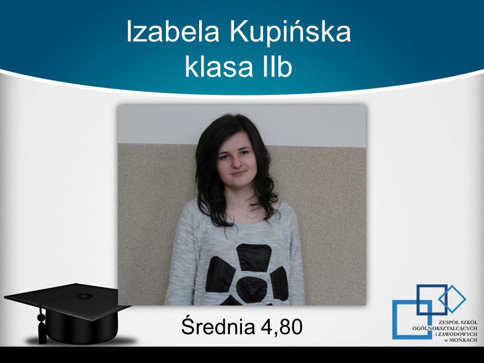 Izabela Kupińska klasa IIb