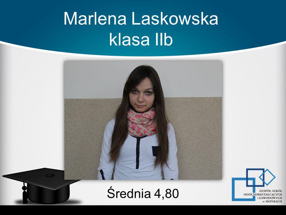 Marlena Laskowska klasa IIb