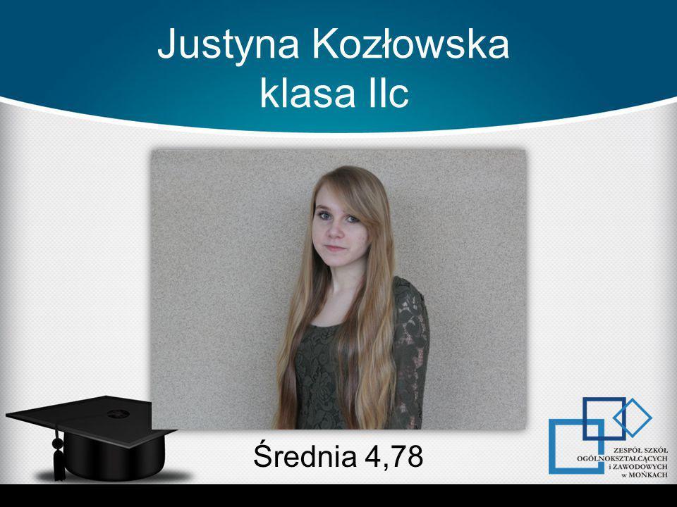 Justyna Kozłowska klasa IIc