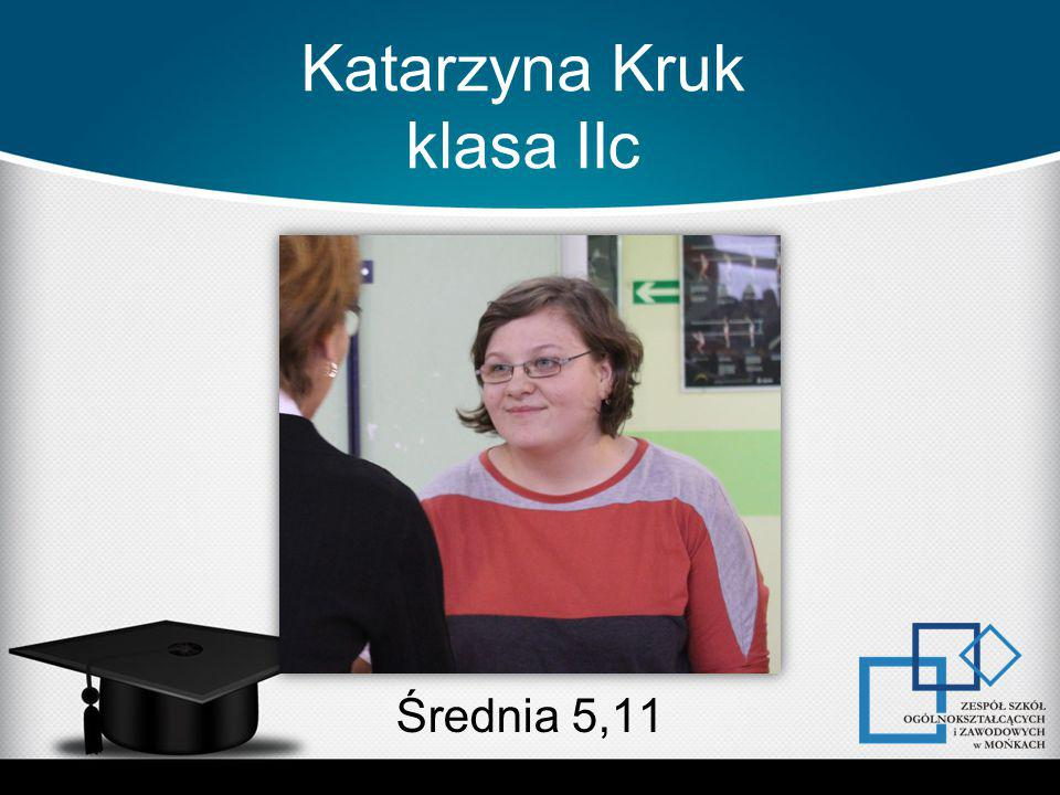Katarzyna Kruk klasa IIc