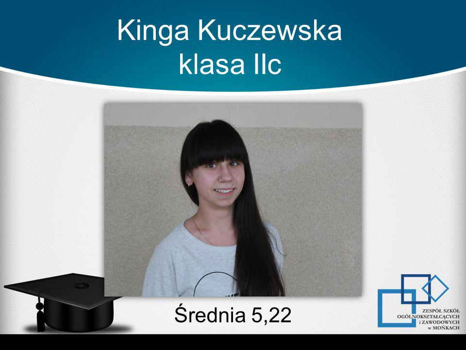 Kinga Kuczewska klasa IIc