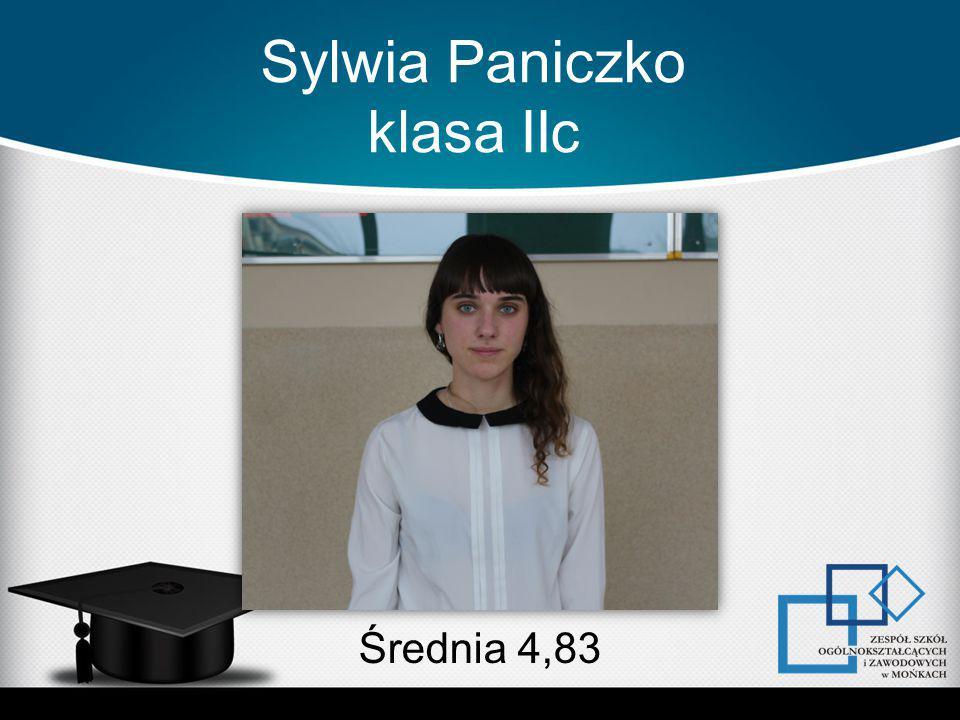 Sylwia Paniczko klasa IIc