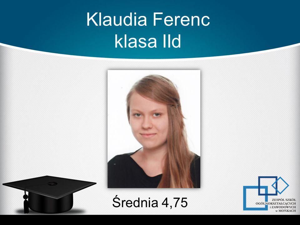 Klaudia Ferenc klasa IId