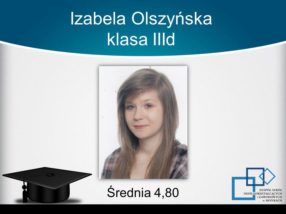 Izabela Olszyńska klasa IIId