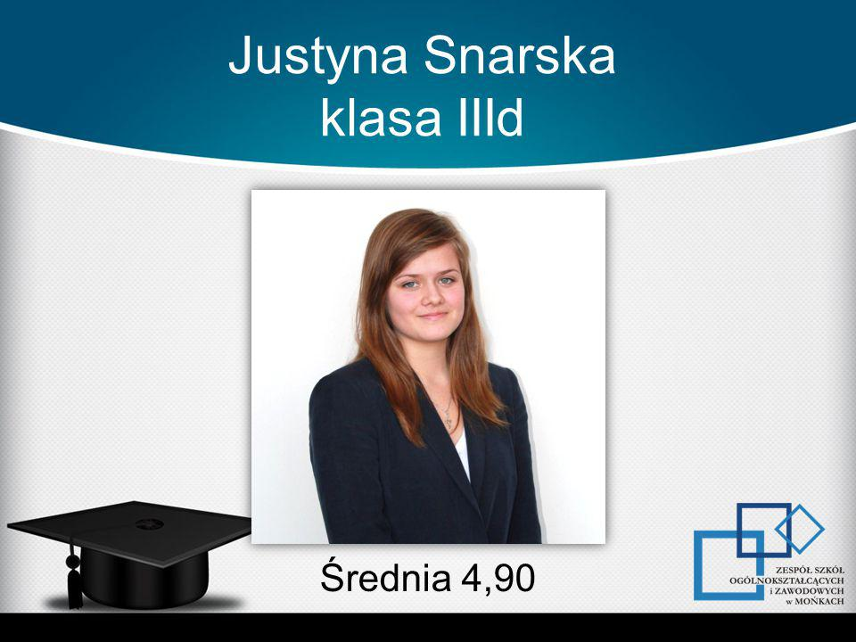 Justyna Snarska klasa IIId