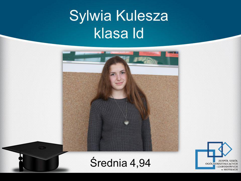 Sylwia Kulesza klasa Id