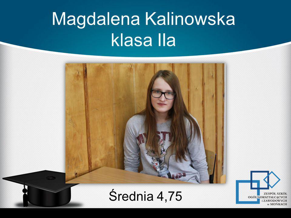 Magdalena Kalinowska klasa IIa