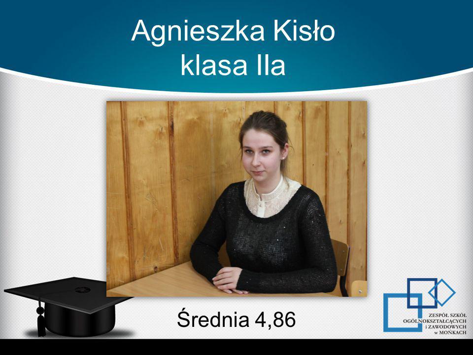 Agnieszka Kisło klasa IIa