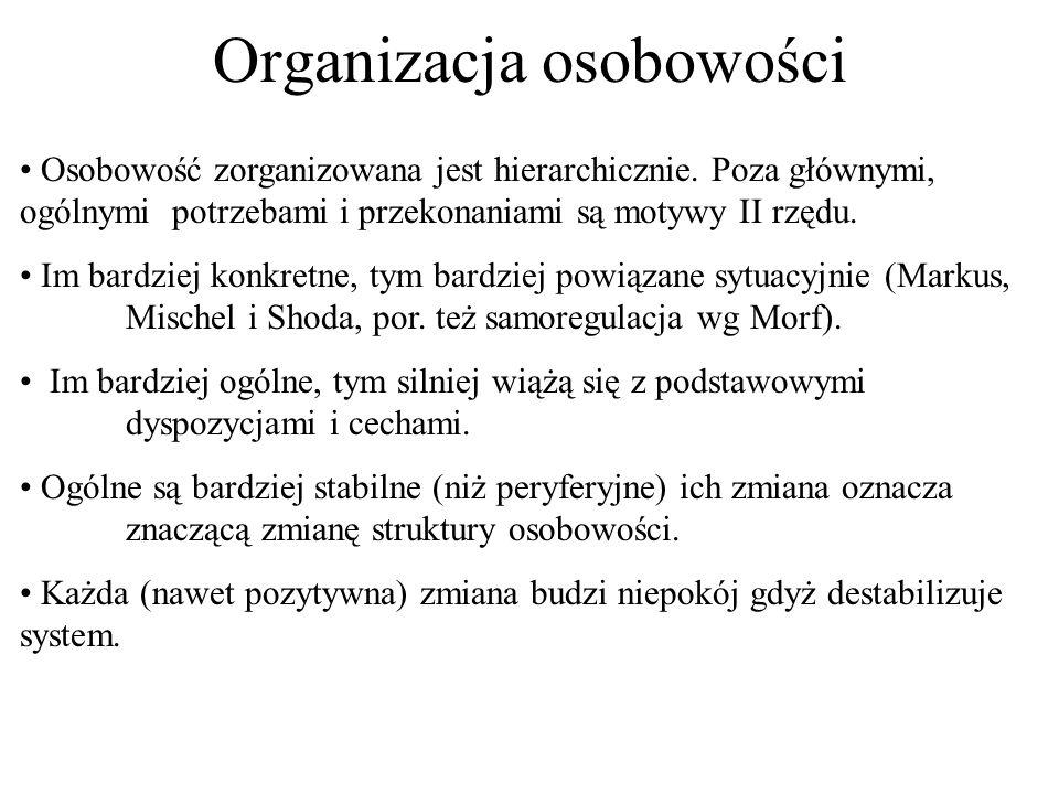 Organizacja osobowości