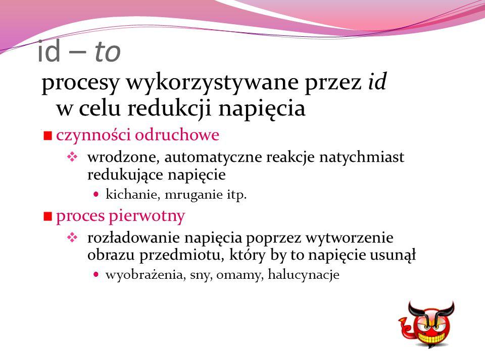 id – to procesy wykorzystywane przez id w celu redukcji napięcia