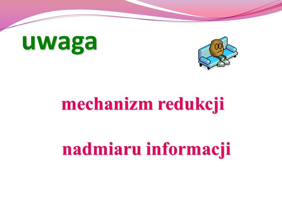 mechanizm redukcji nadmiaru informacji