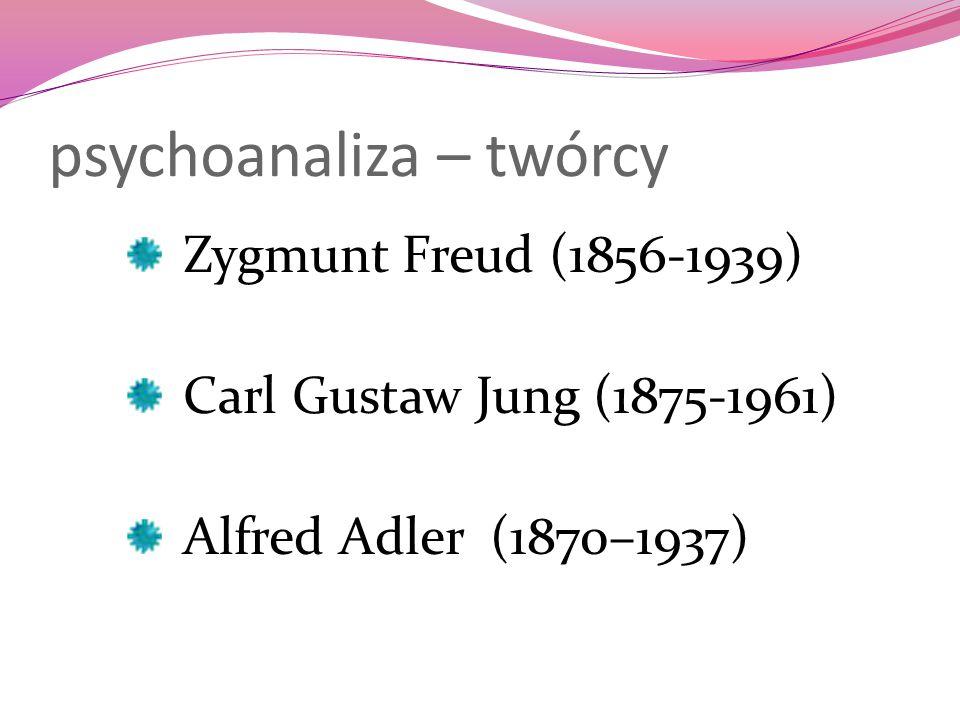 psychoanaliza – twórcy