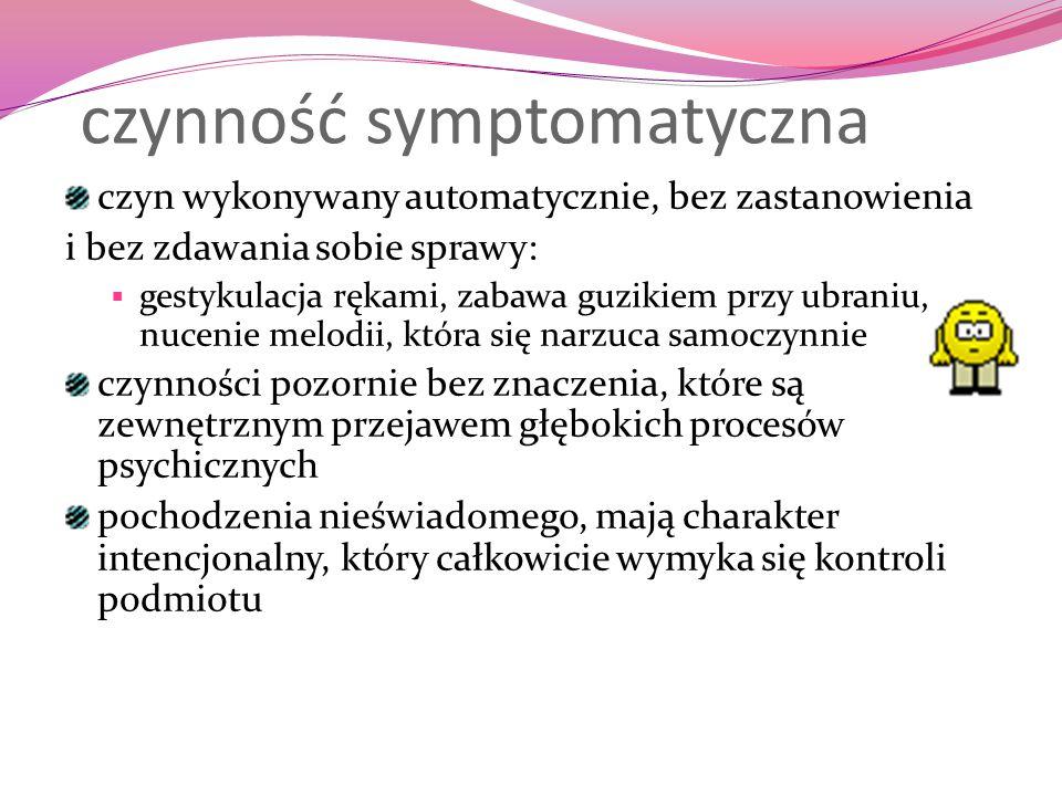 czynność symptomatyczna