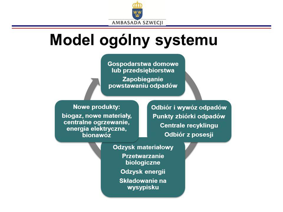 Model ogólny systemu Gospodarstwa domowe lub przedsiębiorstwa